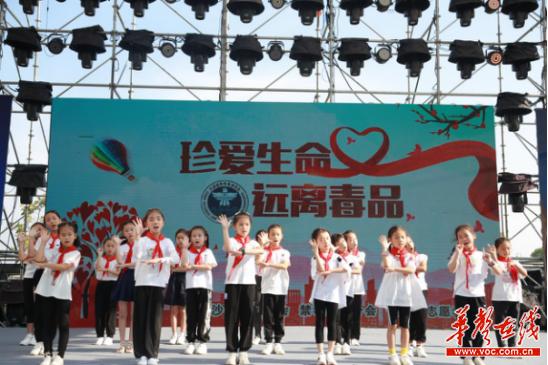 禁毒讲座、文艺表演...长沙市社会禁毒协会多地开展禁毒教育宣传活动