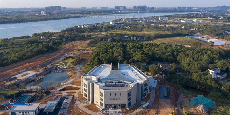 竹埠港創新發展服務中心完工