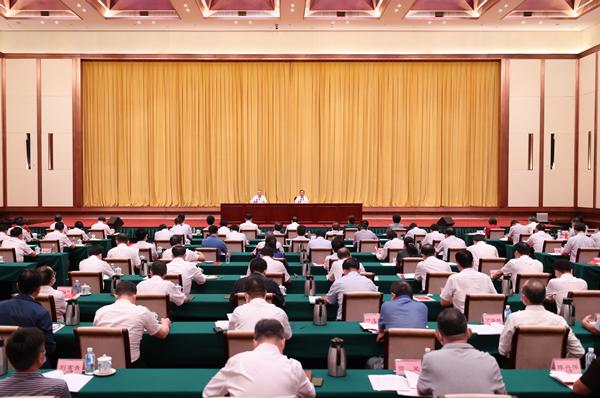 许达哲主持省委理论学习中心组(扩大)第四十八次集体学习