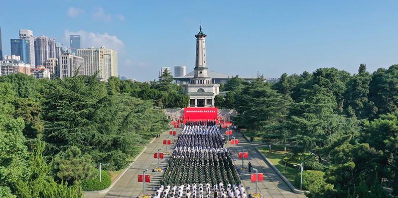 图集| 烈士纪念日,湖南各界致敬英雄