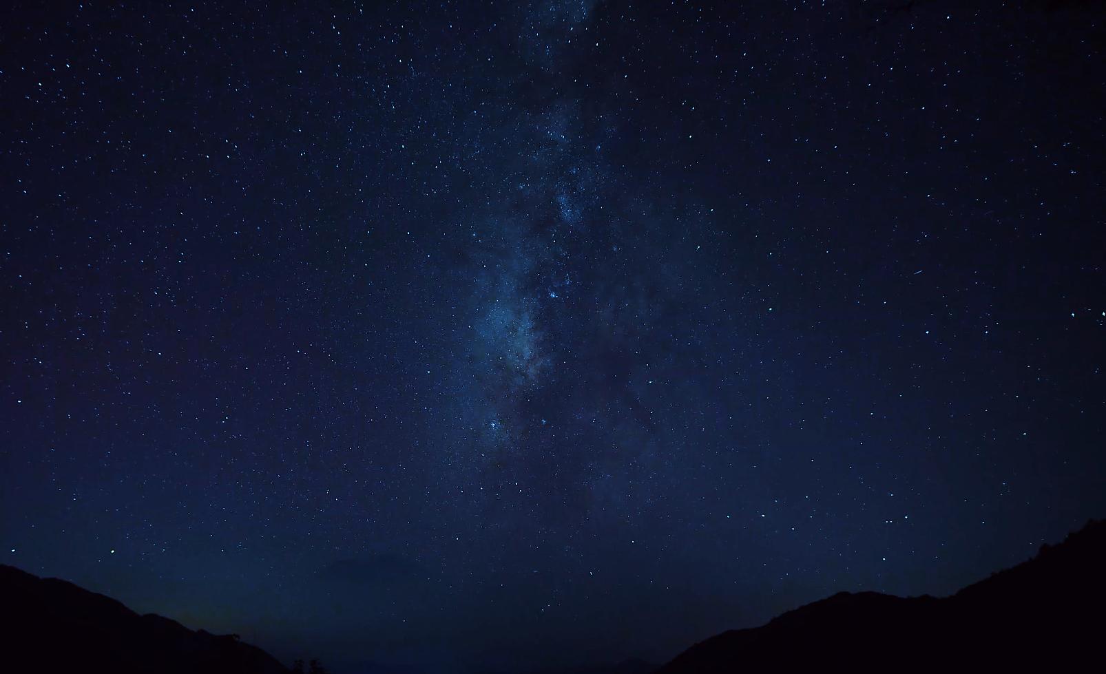 每一帧都是壁纸!如梦如幻的湖南超美星空
