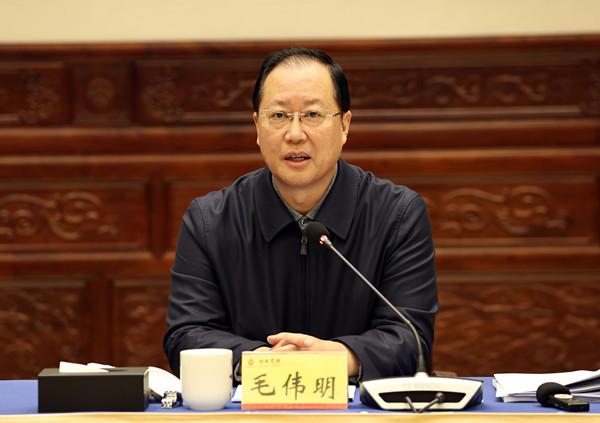 毛伟明:决战四季度 决胜全年度 确保完成全年各项工作目标任务