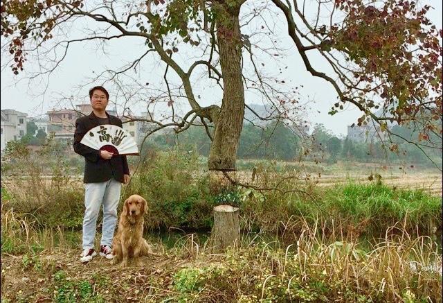 画笔小魔术!能让树悬空的湖南画家把美丽乡村画成了打卡点