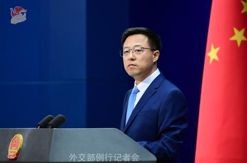 外交部:中方决定制裁美军火商洛克希德·马丁公