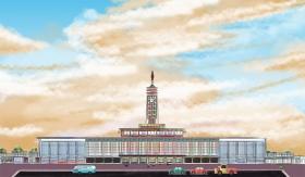 解剖长沙火车站:曾是全国最美建筑之一