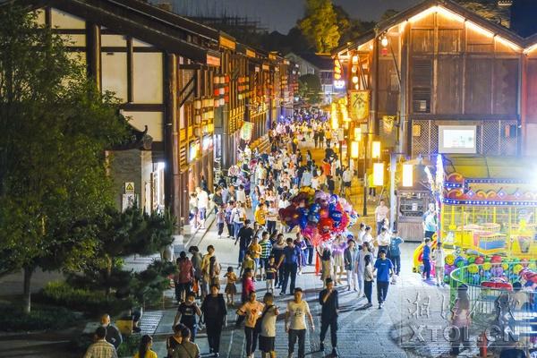 """""""五一""""假期湘潭市旅游市场""""热""""起来"""